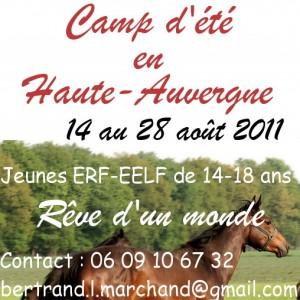 Camp d'été en Haute Auvergne